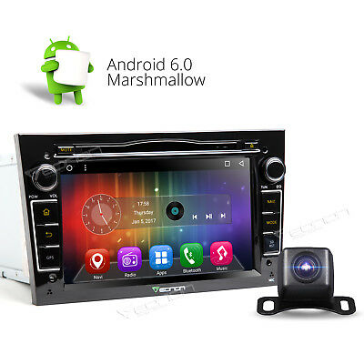 """7""""Android 6.0 In-Dash Car Stereo DVD GPS DAB+ For Vauxhall Opel Holden E Camera"""