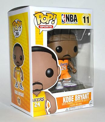Funko Pop Sport NBA Lakers Kobe Bryant Yellow Jersey Vinyl Figure #11