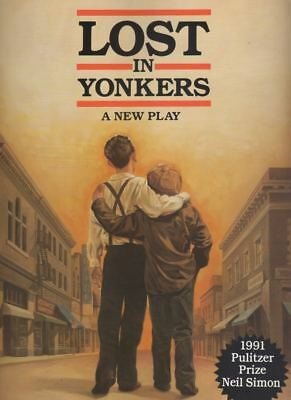 "Kevin Spacey & Irene Worth   ""Lost In Yonkers""   Souvenir Program  1991"