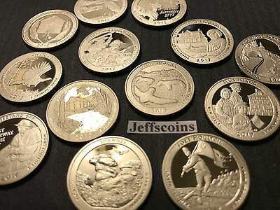 New 1.1 Troy Ounce Quarter Rounds 6x Proof Coin Lot 2014 2015 2016 2017 2018 ATB