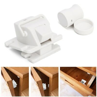 1 Set Magnetic Child Proof Cabinet Drawer Cupboard Locks For Baby Kids Safety