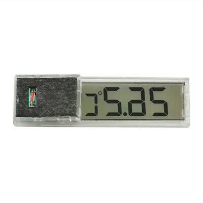 Multi-Function LCD 3D Crystal Digital Measurement Fish Tank Aquarium Thermometer