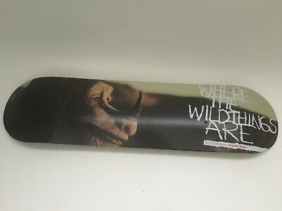 Girl Where The Wild Things Are skateboard deck (Brandon Biebel) special edition