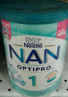 NESTLE NAN OPTIPRO 1 - LARGE 800g Can - FREE PRIORITY SHIPPING IN THE U.S.A