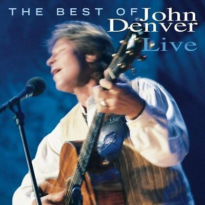 Denver,john-Best Of John Denver Live  Cd New