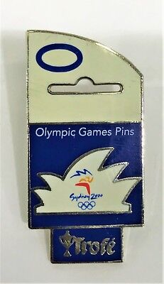 Opera House Hang Sell Sydney Olympics 2000 Pin Collect #1097