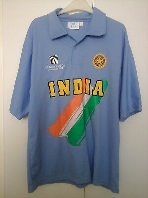 India Cricket World Cup Shirt 2003 Size XL