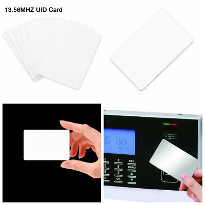 13.56Mhz 10pcs UID IC Card Changeable RFID Smart Card Block0 Sector Writable