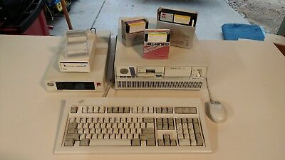 IBM PS/2 Model 50 Z  w/ Kingston 386 SX Upgrade, Model M Keyboard, Serial Mouse