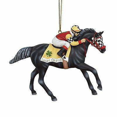 Enesco Christmas Trail of Painted Ponies Godspeed Horse Ornament 4054115