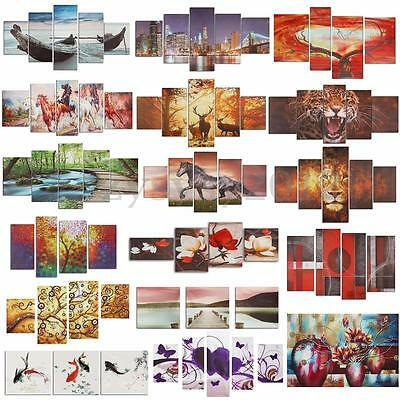 Unframed Colorful Modern Art Canvas Oil Print Painting Picture Home Wall Decor