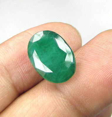 LAB CERTIFIED 7.12Cts NATURAL ZAMBIAN EMERALD
