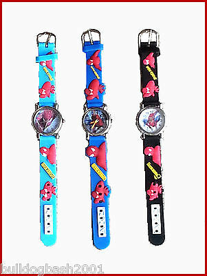 Spiderman Childrens Watch, Uk Seller, Plus Free Gift, Fast Dispatch