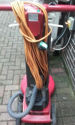 victor excell super 16 floor scrubber polisher vacuum