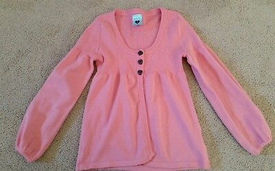size 8 Girls pink cardigan from Pumpkin Patch EUC