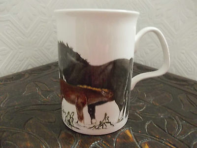 Vintage Roy Kirkham, English Bone China Horse Mug