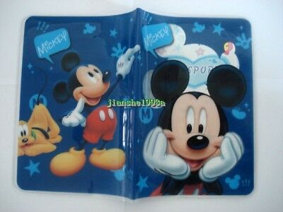 1 X Disney Mickey Mouse Boys Travel Passport Cover Case Protector Holder