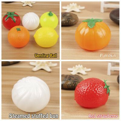 1pcs Anti-stress Ball Funny Splat Venting Balls Reliever Smashing Squeeze Toy