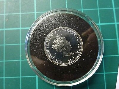SILVER 0.925 THE HOUSE OF WINDSOR Anniversary £1 Proof Coin In Capsule + Cert