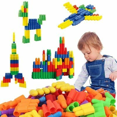 105Pcs Children Kid Plastic Puzzle Educational Building Blocks Bricks Toy #2