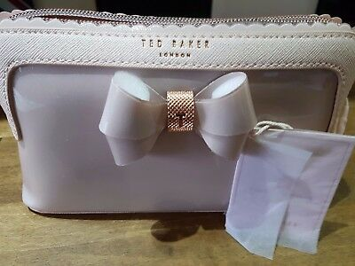 Ted Baker Scallop Edge Pink Make-Up Bag Bnwt