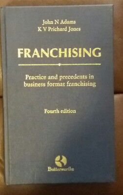 Franchising Practice & Precedents in Business Law Book
