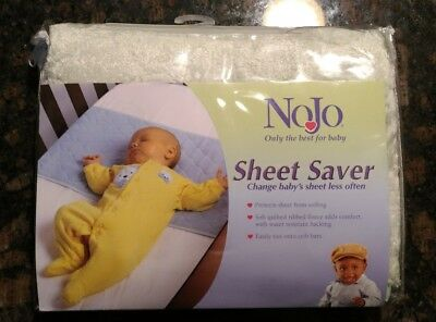 NoJo Sheet Saver Green sheet protector new in pkg