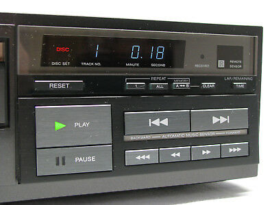SONY CDP-101 Compact Disc CD Player CD Spieler