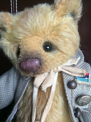 Artist bear Silas by Beatrix Bears one of a kind mint condition