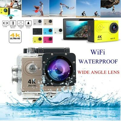 Waterproof H9/H9R Ultra 4K HD 1080P WIFI Sport Action Camera 170° Wide Camcorder