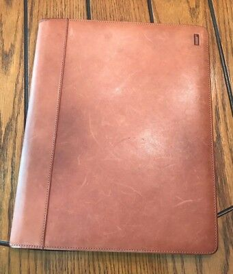 Hartmann Vintage American Belted Leather Tan Portfolio - Standard Pad
