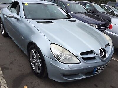 2005 Mercedes Slk 200K 1.8 12 Services, 1F/owner Leather,air Scarf,heated Seats