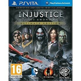 Injustice Gods Among Us Ultimate Edition Game Of The Year (GOTY) Game PS Vita