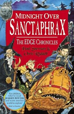 The edge chronicles: Midnight over Sanctaphrax by Paul Stewart (Paperback)