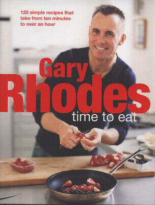 Time to eat by Gary Rhodes (Hardback) Highly Rated eBay Seller, Great Prices