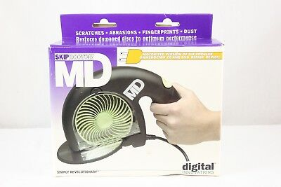 Skip Doctor DR MD Motorized CD DVD Repair System BRAND NEW OPEN BOX