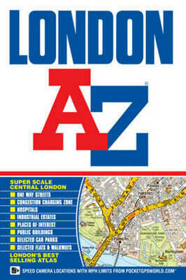 A-z Street Atlas S.: London Street Atlas by Geographers' A-z Map Company