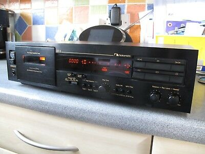 NAKAMICHI DR-3 Cassette Deck Superb Hardly used Boxed Instructions
