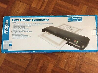 Laminator A4 with 2 packs of laminating pouches
