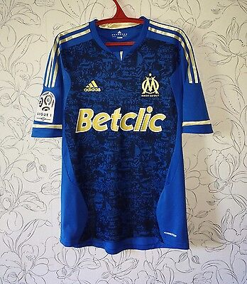Match worn issue shirt maglia maillot camiseta Marseille Olympique France Ayew