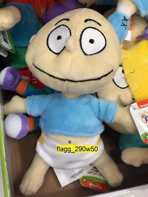 *Nickelodeon Rugrats* 8 INCH TOMMY BEAN STUFFED PLUSH NICK 90's FIGURE