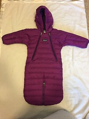 Patagonia Baby Bunting Down Coat Jacket Snow Suit Size 0M (relist d/t non-paymt)