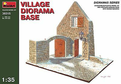 Village diorama base << MiniArt #36015, 1/35 scale