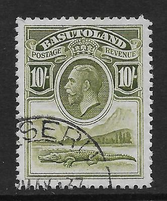 Basutoland  Sg 10  Top Value Of 1933 G.v. Set    Very Fine Used