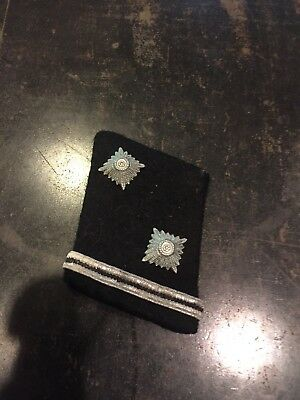 WW2 German Black Elite Forces Collar Insignia From US Vets Estate