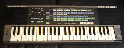 Casio SK-200 Sampling Kult-Keyboard 1980iger Jahre Vintage