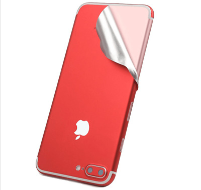 red mobile phone stickers mobile phone shell body film for iPhone 7 7s diy
