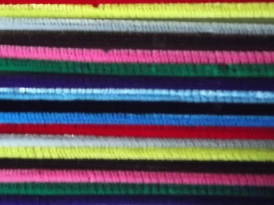 """30 x 12"""" Chenille Pipe Cleaners Mixed Colours Crafts Cards"""