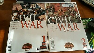 Marvel Comics Civil War (2015 Series) Lot Issues #1, 2, 3, 4