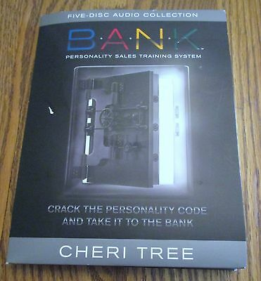 B.A.N.K. Personality Sales Training System by Cheri Tree Complete Set